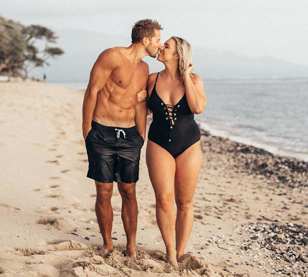 Wisconsin wife of 'Mr Six-Pack' opens about body confidence