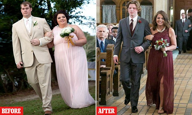Alabama bridesmaid loses half body weight after seeing wedding pics