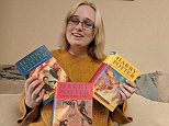 Hayley Malsom, 21, snapped up first editions of The Goblet of Fire, The Order of the Phoenix and The Half-Blood Prince from her local British Heart Foundation for a total of £9