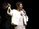 FILE - In this Nov. 7, 2017 file photo, Aretha Franklin attends the Elton John AIDS Foundation's 25th Anniversary Gala in New York. Franklin is canceling a concert that would have taken place on her 76th birthday due to doctor's orders. (Photo by Andy Kropa/Invision/AP, File)