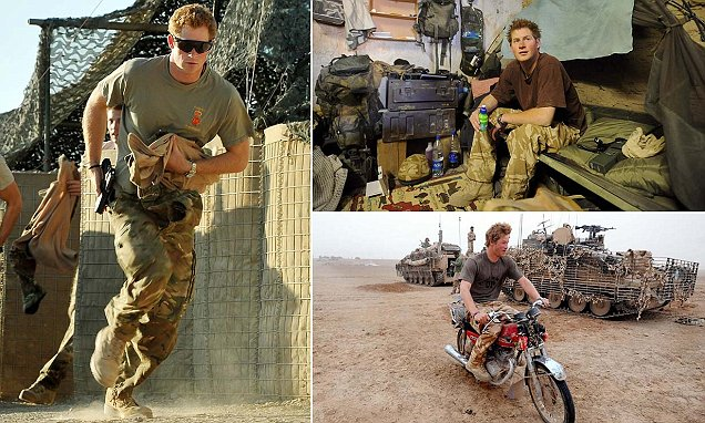 New biography reveals bravery of Prince Harry
