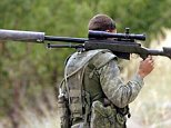 A British sniper has killed a senior ISIS fighter with a 'one in a million' shot from a mile away using a US-made McMillan TAC-50 sniper rifle (as seen in this file picture), it has been claimed
