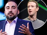 Facebook chief information security officer Alex Stamos (pictured in July)  is leaving the company in August in a row over how the company should deal with fake news