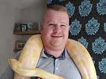 Scott Gavin (left) received £26,000 on a benefits television show and used the money to set up a miniature zoo