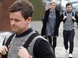 Picture Shows: Declan Donnelly  March 20, 2018    * Min Web / Online Fee £400 For Set *    One half of Ant & Dec, Declan Donnelly and his wife Ali Astall are seen out and about in Chiswick in London, England, UK.    Sources report Declan is devastated about recent events concerning his comedy partner Ant McPartlin.    * Min Web / Online Fee £400 For Set *    Exclusive  Worldwide Rights  Pictures by : Flynet Pictures © 2018  Tel : +44 (0)20 3551 5049  Email : info@flynetpictures.co.uk