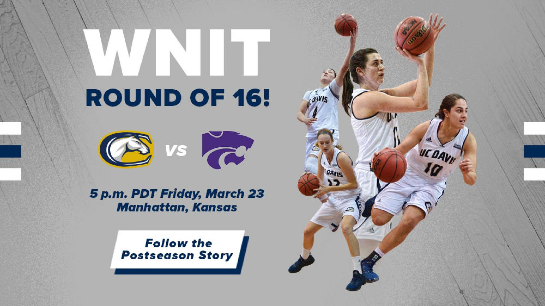 Go Ags! Women's Basketball team heads to round of 16 for the NIT tournament!
