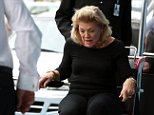 James Packer's mother Roslyn has flown out of Australia to be with her son,less than 24 hours after his 'mental health issues' were revealed