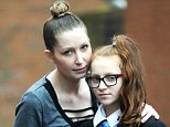 Nic Lane claims her daughter Paris was told to dye her hair by a teacherbecause 'orange is not a natural colour'