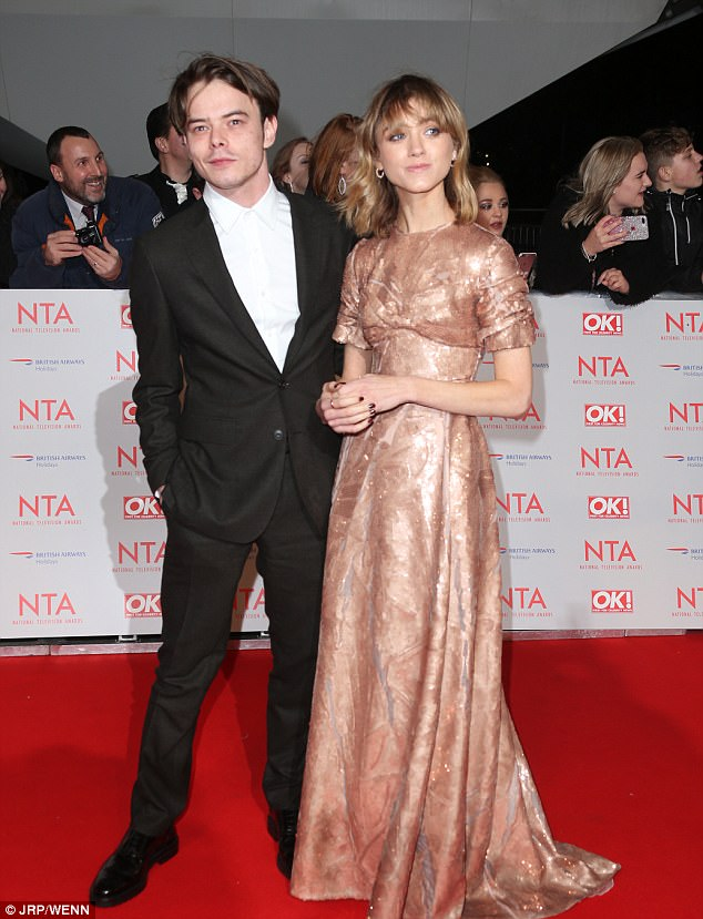 The couple are currently restricted to spending time together in the UK after Charlie was refused entry into the US in October after cocaine was detected on him as he made his way through LAX