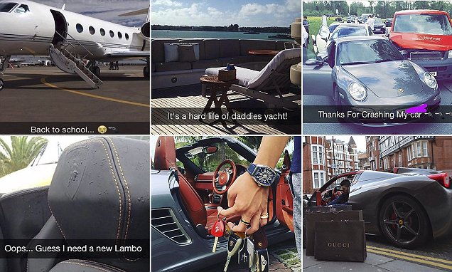 Rich Kids of Instagram flaunt their first-world problems