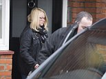 Ant McPartlin's mother has been seen for the first time (pictured today, leaving his home), leaving his London home, after he was arrested on suspicion of drink driving