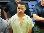 Zachary Cruz, 18, appeared in court on Tuesday after he was arrested at Marjory Stoneman Douglas High School in Florida and charged with trespassing on school grounds