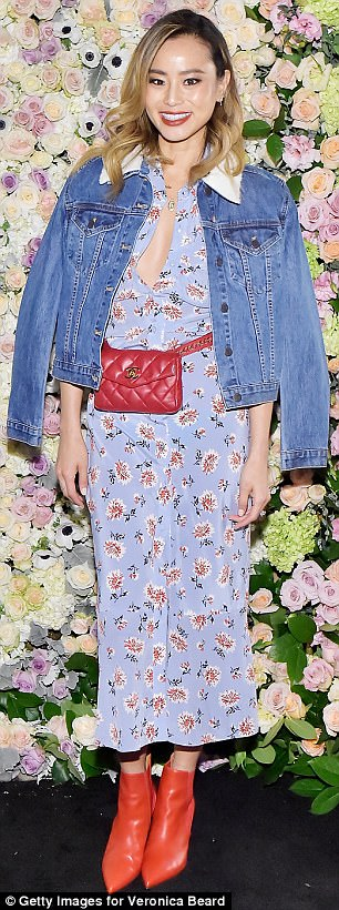 Stylish stars! Jordana Brewster and Jamie Chung were just some of the starlets who donned Veronica Beard clothing to celebrate the opening of designer's first LA store on Wednesday