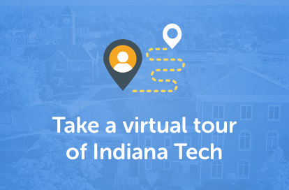Visit Indiana Tech from the comfort of your seat with our virtual tour