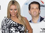 Vanessa Trump reportedly pleaded with Aubrey O'Day (pictured) to end her relationship with Donald Trump Jr. in a furious phone call