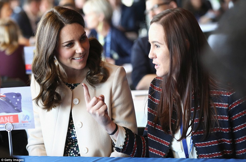 Masterminds! The royals took part in a Commonwealth Quiz in which athletes, coaches and supporters were questioned on their knowledge of the Commonwealth