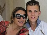 Liz Hurley has shared graphic photographs of the injury suffered by her nephew after he was chased down by a gang and ruthlessly stabbed in the back