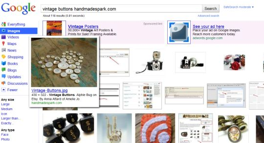Google Image Search - Vintage Buttons