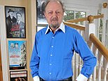 Peter Bowles, pictured at his home in Barnes, South-West London, is 81 years old. It is nearly 40 years since he became an overnight star after appearing as Richard DeVere in the BBC's To The Manor Born, alongside Penelope Keith as Audrey fforbes-Hamilton, in September 1979 (pi