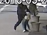 Shocking surveillance video shows a man randomly attack a 17-year-old woman in Brooklyn