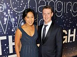 The Scottish Mail on Sunday can reveal that the SNP paid Facebook to identify supporters of rival parties, then bombard them with Nationalist propaganda. Pictured: Mark and Zuckerberg and Priscilla Chan