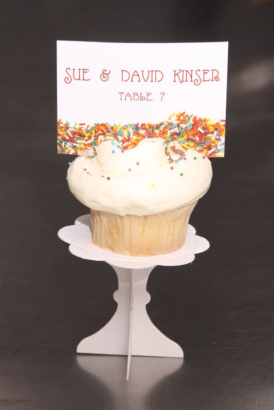 Wedding Place Cards  -  Sprinkles  - Escort Cards Custom Designed
