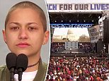 Emma Gonzalez, who survived the school shooting massacre at Marjory Stoneman Douglas, stood silent for a long period during her powerful speech on the stage at the Washington, DC, March For Our Lives