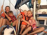 Caspar Craven, 45, claims sailing around the world saved his marriage and family