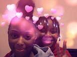 Ashara Wallace, 15, (left) vanished on Friday night while her nine-year-old sisiter Alliyah (right) went missing from Lambeth, South London