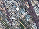 More than 800,000 people flocked to Washington D.C. on Saturday to plead for gun control, their size captured in stunning images by DigitalGlobe