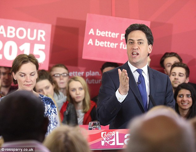 Ed Miliband went campaigning with his wife Justine in Pudsey, West Yorkshire, on the last day of campaigning today