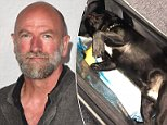 Outlander actor Graham McTavish (pictured) tweeted on Friday that crew members on his United Airlines flight to Chicago were joking about dogs in overhead bins, just days after Kokito, the bulldog puppy suffocated on a United flight