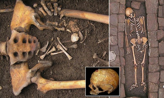Medieval woman gave birth after death