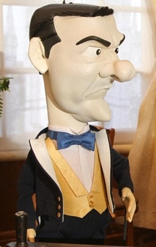 Mr Osborne insisted he had learned to laugh at his critics, including most recently in ITV's new puppet show Newzoids – a modern day Spitting Image – which sees him looking ghostly pale in Bullingdon Club dress