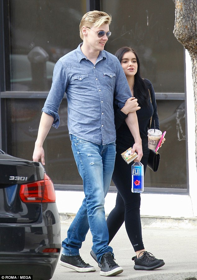 Two of a kind! It seems Ariel Winter and Levi Meaden are still going strong, as the couple clung closely to one another during an outing in Los Angeles on Friday