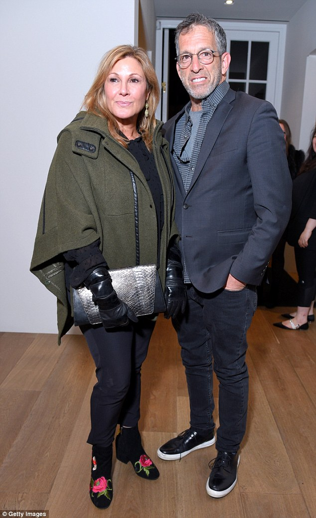 Party people: Also at the bash weredesigner Kenneth Cole and his film producer wife Maria Cuomo