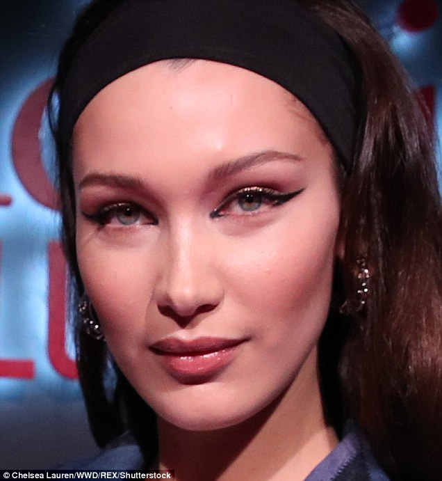 Now: Bella is a top supermodel