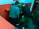 This shocking video shows two vicious thugs pursuing and attacking a victim for trying to defend a woman after she was headbuttedin Torquay, Devon
