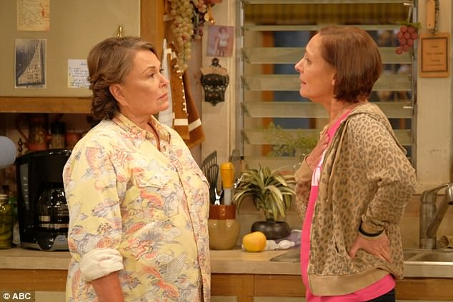 Culture war: The modern American political debate was well-reflected with Roseanne as a Trump supporter, and her sister Jackie leaning toward the left