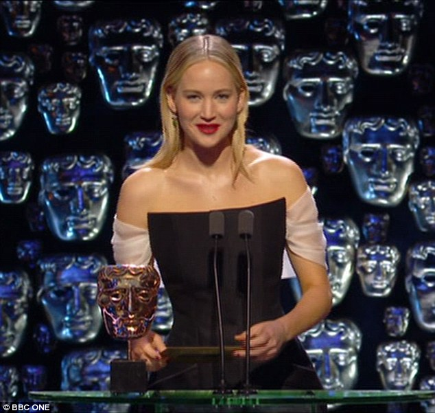 It's over! Jennifer Lawrence has quipped that she'll never joke again after her joke with Joanna Lumley at the BAFTAs spectacularly backfired