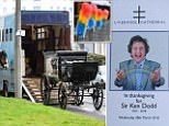 Thousands of mourners will turn out for the funeral of Sir Ken Dodd this morning (WEDS)