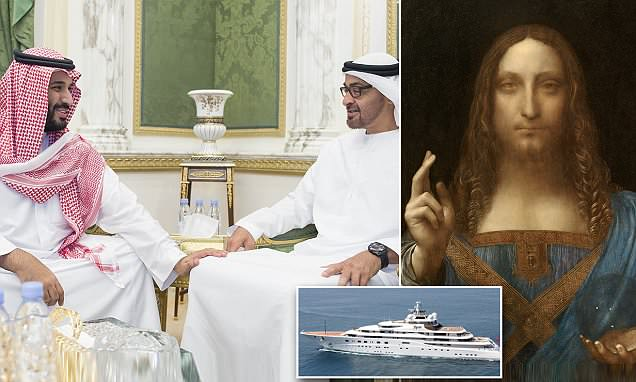 Two Arab princes in $450m bidding war for Da Vinci's Salvator Mundi