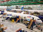 The 787 Aft Body manufacturing area is seen at Boeing South Carolina in North Charleston, South Carolina in a file photo. The facility was attacked by WannaCry on Wednesday
