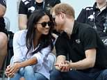 Prince Harry and Meghan Markle will attend trials for the Invictus Games in Bath next week. They are pictured at the 2017 Games in Toronto, which was their first official appearance together