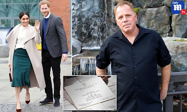Thomas Markle Jr says he is waiting for a royal wedding invite