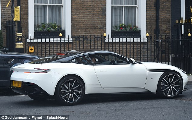 A beauty: The Aston Martin brand was made famous after over 50 years of appearing in the James Bond film series