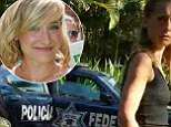 Shocked Smallville actress Allison Mack chases police car after officers in Mexico detain Nxivm cult leader - as her arrest is said to be 'imminent' for sex trafficking