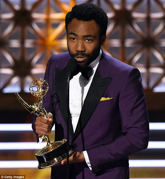 Big news: He revealed he was expecting baby number two in September, during his acceptance speech upon winning the Outstanding Lead Actor In A Comedy Series Emmy for his work on Atlanta