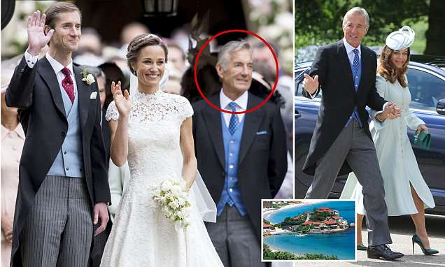Pippa Middleton's father-in-law is charged with rape of a minor