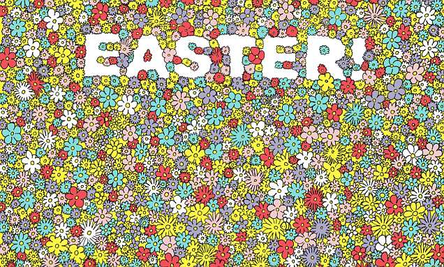 Dudolf creates seek-and-find puzzle in time for Easter